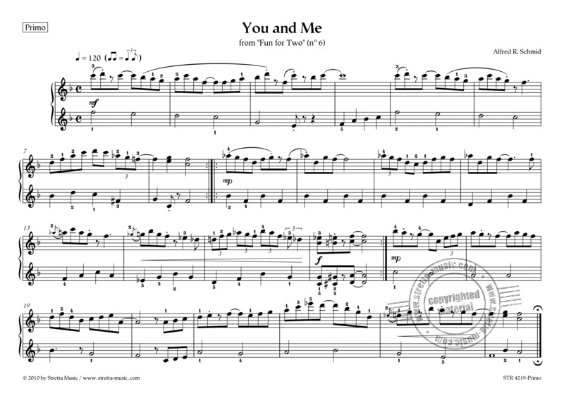 Alfred R. Schmid: You and Me (2)