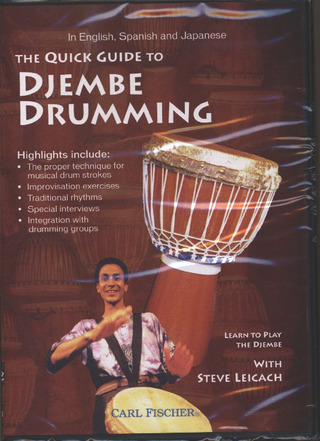 Leicach Steve: The Quick Guide To Djembe Drumming
