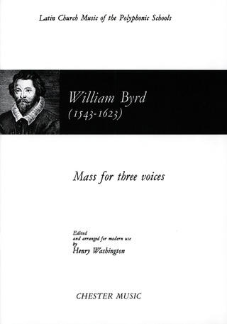 William Byrd: BYRD, W Mass for 3 Voices (WASHINGTON) STB (L) V/S