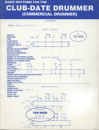 Ted Reed: Basic Rhythms for the Club-Date Drummer