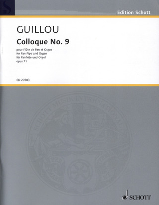 Jean Guillou: Colloque No. 9 op. 71