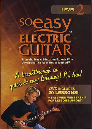 John McCarthy: So Easy Electric Guitar Level 2