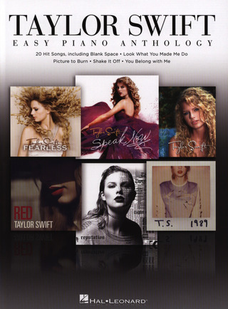 Taylor Swift – Easy Piano Anthology