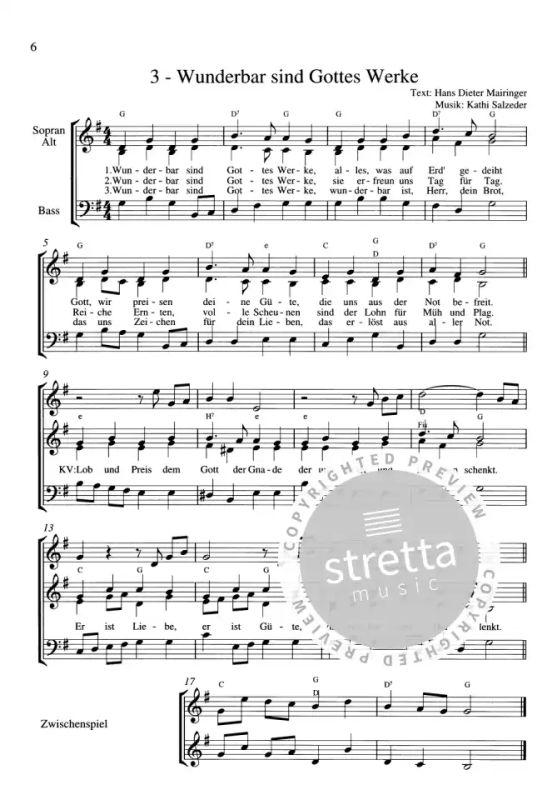 Lieder Erntedankfest