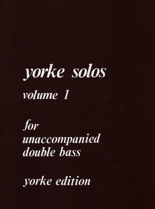 Unaccompanied Solos Vol. 1