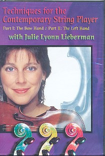 Lieberman Julie Lyonn: Techniques For The Contemporary String Player Str Inst Dvd