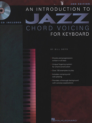 Bill Boyd: Introduction To Jazz Chord Voicing For Keyboard, An