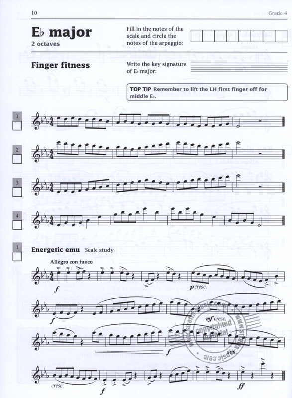 Paul Harris: Improve your scales! Flute Grades 4-5 (2)