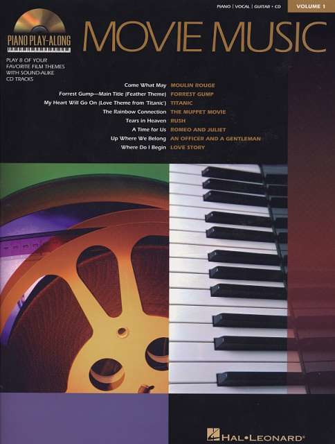 PIANO PLAY ALONG 11 Ballads BooK /& CD PVG