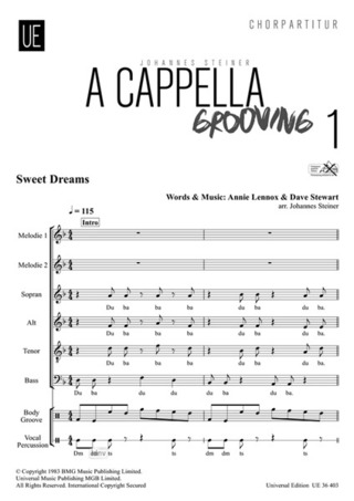 Johannes Steiner: A Cappella Grooving 1