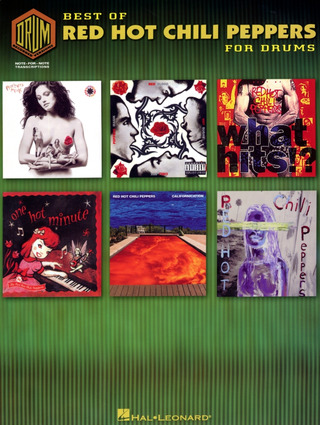 Red Hot Chili Peppers: Red Hot Chili Peppers Best Of Drum Recorded Versions