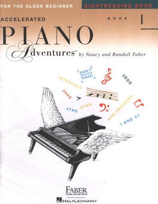 Randall Faber et al.: Accelerated Piano Adventures 1 – Sightreading