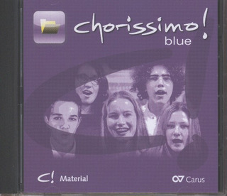 chorissimo! blue – Material-CD