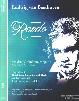 Ludwig van Beethoven: Rondo from Concerto for Violin op. 61