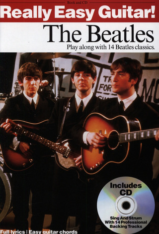 The Beatles: Really Easy Guitar The Beatles Bk/Cd