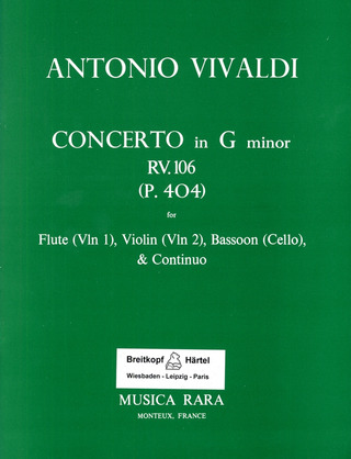 Antonio Vivaldi: Konzert in g RV 106