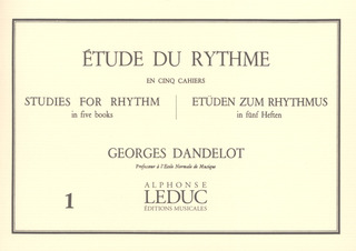 Georges Dandelot: Studies for Rhythm 1