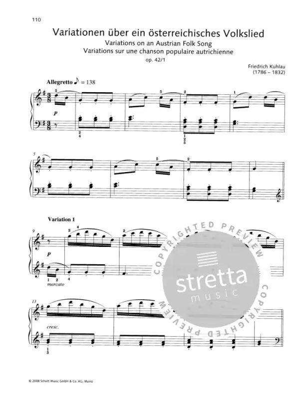 Für Elise Noten für Klavier 100 klassische Original-Klavierstücke + leicht