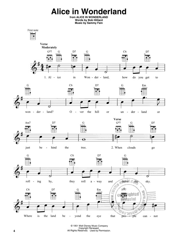 Disney Songs for Baritone Ukulele (1)