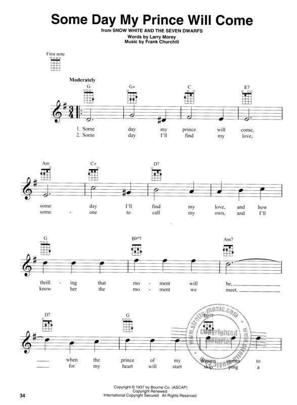 Disney Songs for Baritone Ukulele (3)