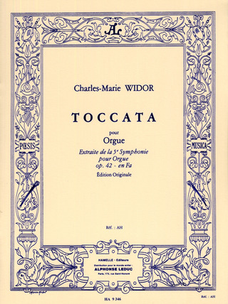 Charles Marie Widor: Toccata (Extrait Symphonie Nr. 5)
