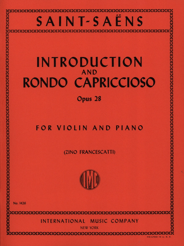 Camille Saint-Saëns: Introduction and Rondo capriccioso op.28