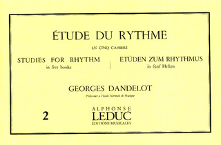 Georges Dandelot: Studies for Rhythm 2