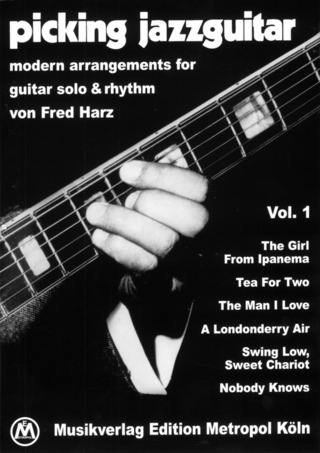 Fred Harz: Picking Jazzguitar 1