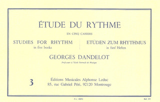 Georges Dandelot: Studies for Rhythm 3