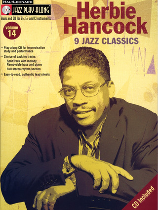 Hancock, Herbie: Jazz Play-Along Volume 14 Herbie Hancock Classics Bflat Inst Book / Cd