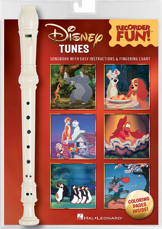 Howard Ashman y otros.: Disney Tunes – Recorder Fun!