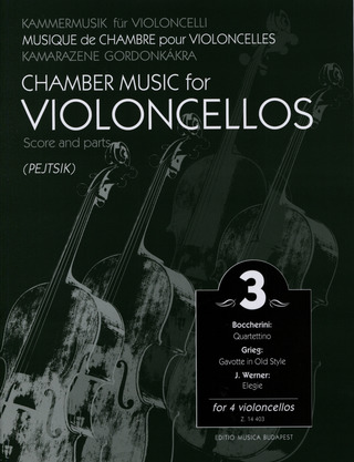 Chamber Music for Violoncellos 3