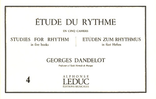 Georges Dandelot: Studies for Rhythm 4