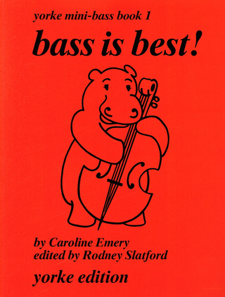 Emery C.: Bass Is Best 1 - Yorke Mini Bass Book 1
