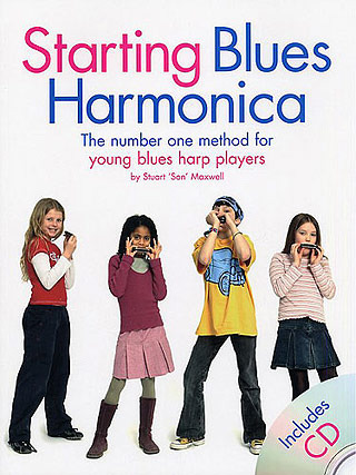 Maxwell Stuart: Starting Blues Harmonica Pack Harm Book / Cd