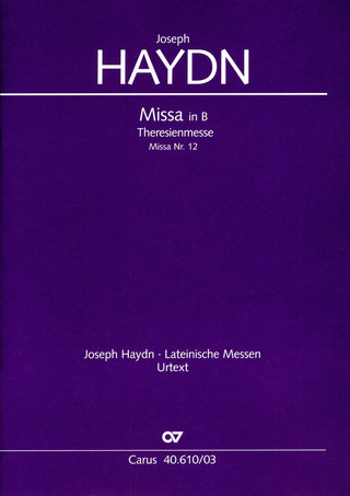 Joseph Haydn: Theresienmesse in B