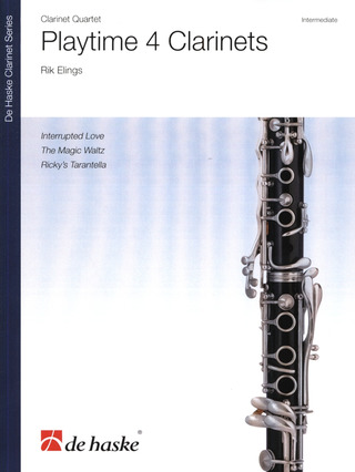 Rik Elings: Playtime 4 Clarinets