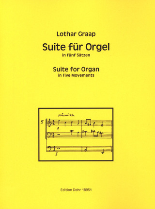 Lothar Graap: Suite for Organ