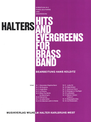 Halters Hits and Evergreens 1