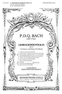 P.D.Q. Bach: Liebeslieder 3 - The Passionate