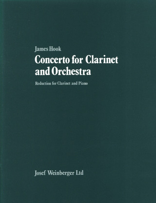 James Hook: Concerto for Clarinet and Orchestra