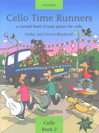 David Blackwell et al.: Cello Time Runners vol.2 (+CD)