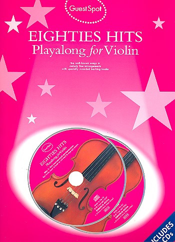 Guest Spot Eighties Playalong Hits For Violin (Book And 2Cds) Vln Boo