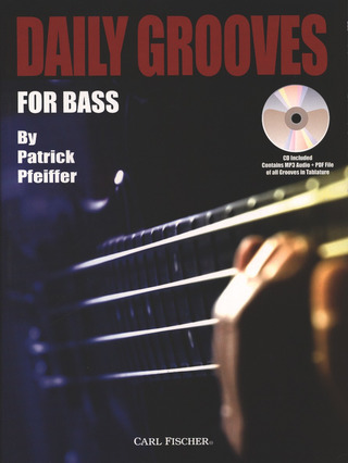 Pfeiffer Patrick: Daily Grooves For Bass