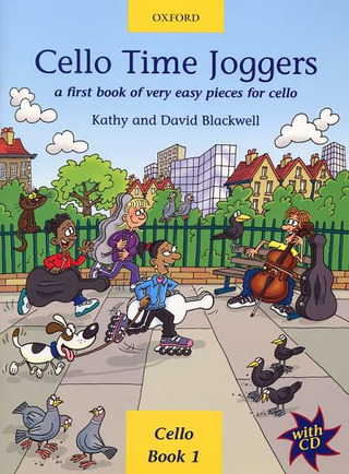 David Blackwell et al.: Cello Time Joggers vol.1 (+CD)
