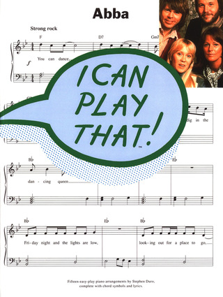 ABBA: Abba I Can Play That Pvg