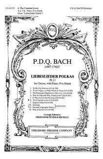P.D.Q. Bach: Liebeslieder 6 - The Constant L