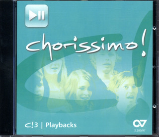 c!3 Chorissimo - Playback-CD