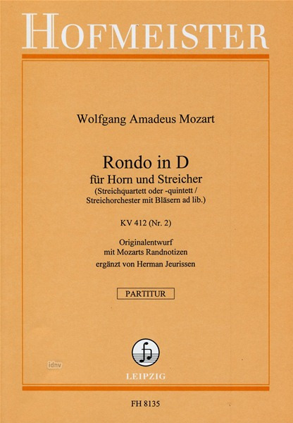 Wolfgang Amadeus Mozart: Rondo in D