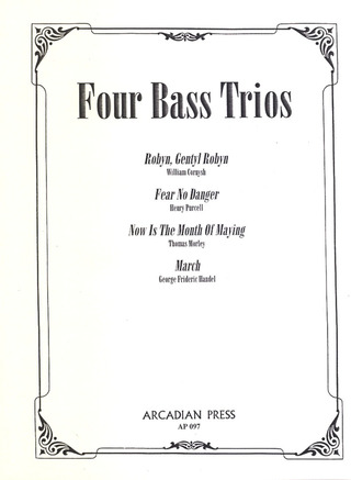 William Cornysh et al.: Four Bass Trios